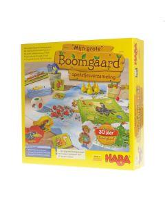 Haba spel Mijn grote boomgaard spelletjesverzameling 3+