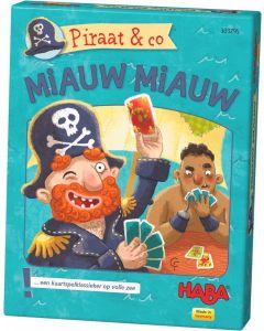 Haba kaartspel Piraat & co - Miauw miauw 4+