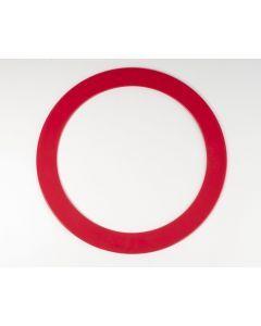 Jongleerring 31,5 cm rood