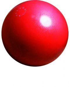 Loopbal 70 cm glitterrood