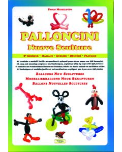Boek New Balloon Sculptures Eng