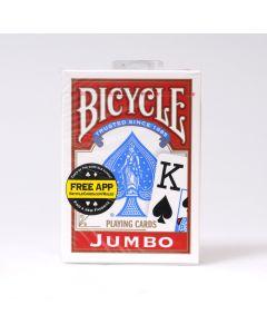 Bicycle goochelkaarten jumbo