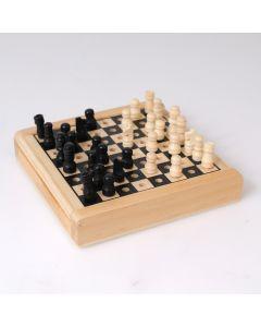 Mini schaakspel reisversie