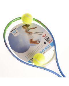 """Tennisracket 25 met 2 ballen"""""""