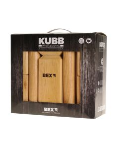 Bex Kubb Viking Pro rubberhout D 7 cm