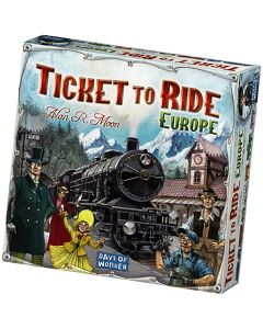 Ticket to Ride - Europa 8+