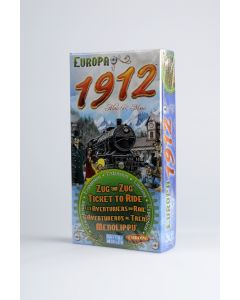 Ticket to Ride - Europa 1912 (uitbreiding) 8+