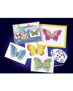 Aquarellum vlinders