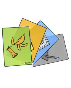 4 klevers voor afvalsortering
