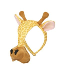 Grimini knuffelmasker giraf
