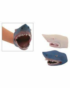 Handpop haai in rubber
