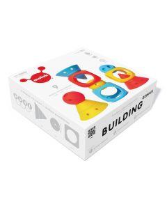 Moluk building genius 9 stuks in siliconen rubber 0+