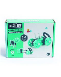 Offbits medium 3-in-1 voertuigset groen