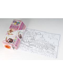 Mini Color On prinses tekenrol 3 m