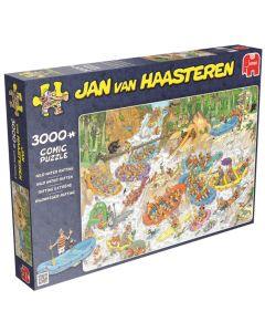 Puzzel Jan van Haasteren - Wild water rafting 3000 stukjes