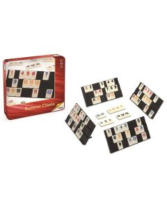 Rummy classic in metalen box
