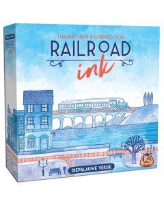 Railroad Ink (Diepblauwe versie) 8+