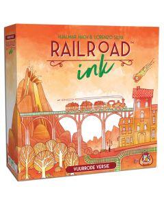 Railroad Ink (Vuurrode versie) 8+
