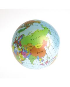 Schenkspeelgoed - Strandbal met wereldprint