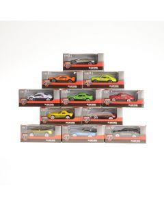 Schenkspeelgoed - Die-cast auto 6,6 cm 1:72 assortiment