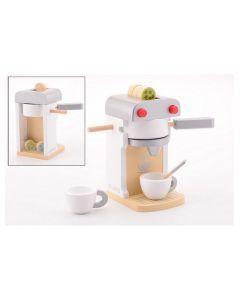 Houten koffieapparaat deluxe