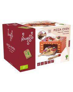 Houten pizza oven