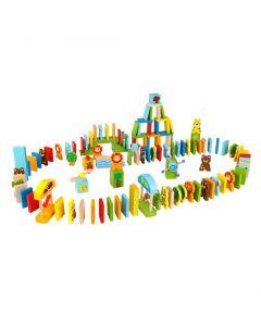 Dominospel Animals 116 stuks