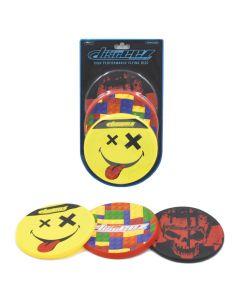 Disceez 3-pack #1 stuntfrisbees 13 cm