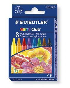 Staedtler Noris waskrijtjes assortiment kleuren 8 stuks