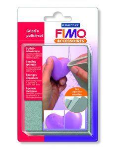 Fimo Accessoires schuur- en polijstsponsjes