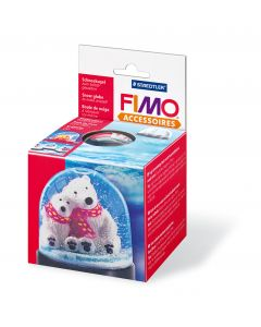 Fimo Accessoires sneeuwbol rond 90x75 mm