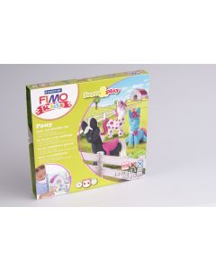 Fimo Kids speelset Pony's