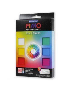 Fimo Professional set basiskleuren 6 x 85 g