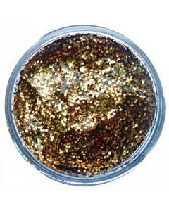 Glittergel 12 ml goud