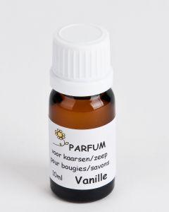 Geurstof voor kaars/zeep 10 ml vanille