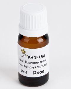 Geurstof voor kaars/zeep 10 ml roos