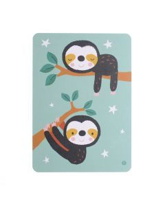 Postkaart Sloth Twins