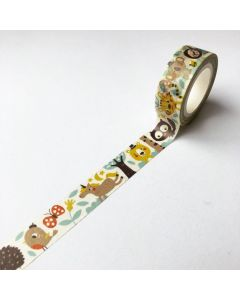Washi tape 1,5 cm x 10 m Hide and Seek