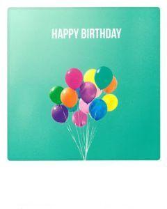 Postkaart - Birthday Colours
