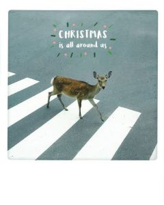 Postkaart - Christmas is All Around