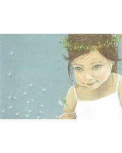 Postkaart Tingeling - meisje