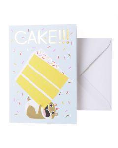 Wenskaart - Cake!!!