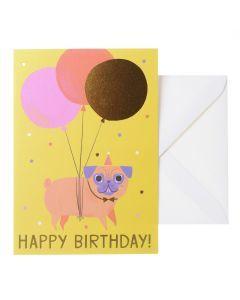 Wenskaart - Birthday Dog