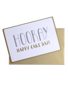 Wenskaart - Happy Cake Day