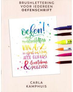 Oefenschrift Kleur! Brushlettering voor iedereen