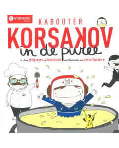 4+ Hoorspel - Kabouter Korsakov in de puree + cd