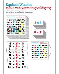 6+ Kap. Winokio Tafels van vermenigvuldiging - educatief