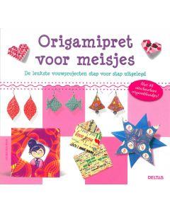 Origamipret voor meisjes