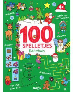 4+ 100 spelletjes - Kerstmis