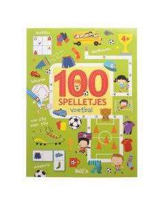 4+ 100 spelletjes - voetbal